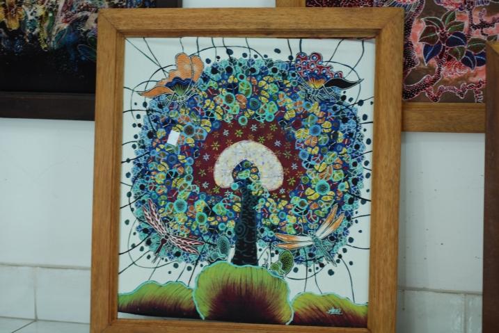 batik obraz