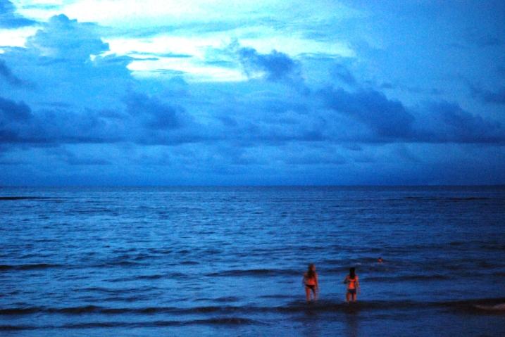 przywitanie morza